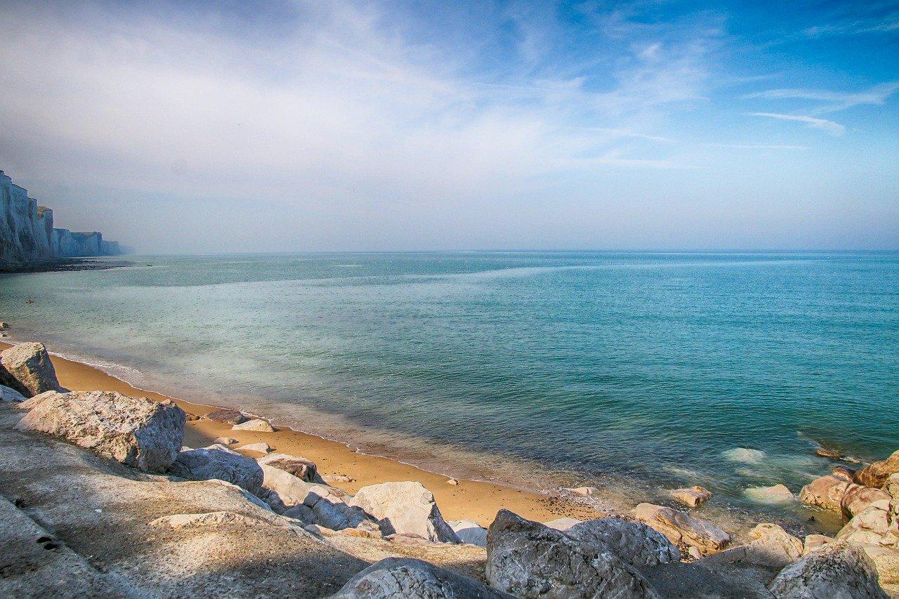 sea, ocean, rocks